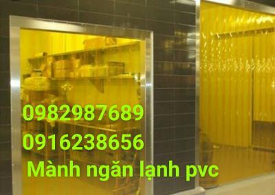 Mành nhựa ngăn lạnh PVC 01