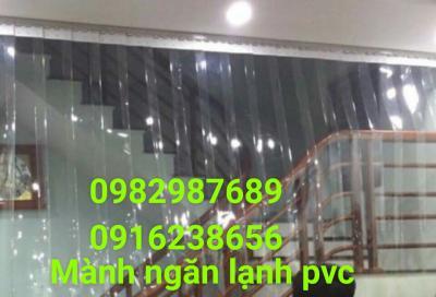 Mành nhựa ngăn lạnh PVC 02
