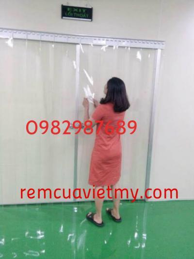 Mành nhựa PVC 002