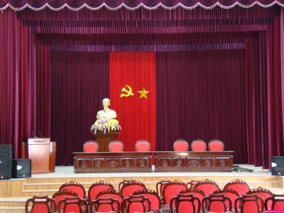 Phông sân khấu hội trường 5003