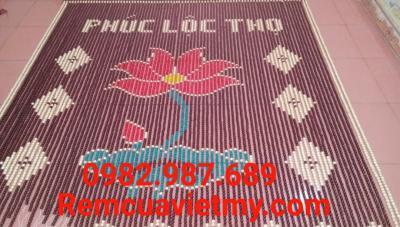 Rèm hạt gỗ hoa sen, phúc lộc thọ H2 tại Hà Nội. Lh: 0982987689
