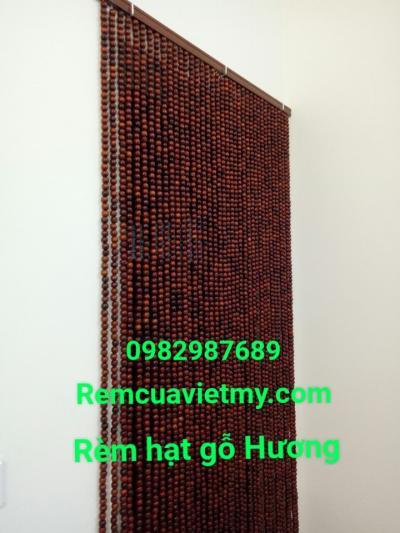Rèm hạt gỗ Hương tại Quận Hoàng Mai
