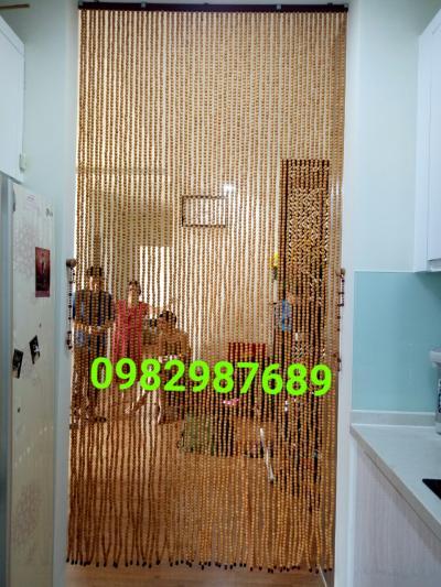 Rèm hạt gỗ pơmu tại Quận Thanh Xuân