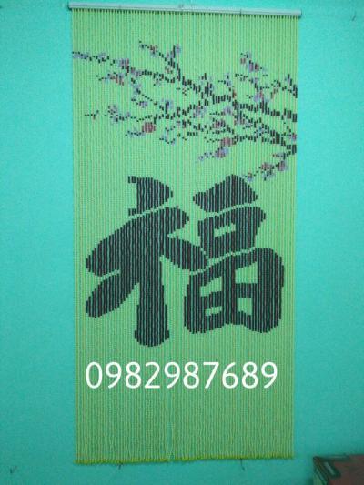 Rèm hạt nhựa chữ phúc Q1