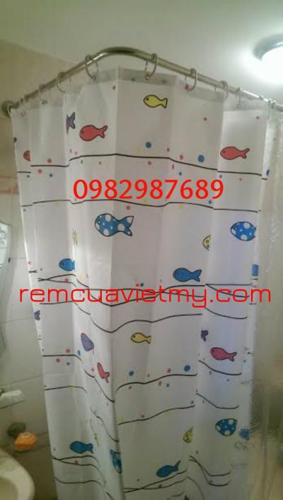 Rèm phong tắm con cá