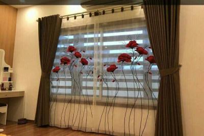 Rèm vải phòng khách HH 12