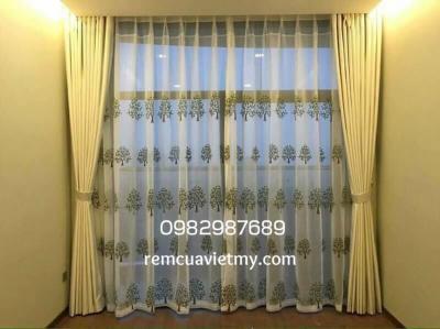 Rèm vải phòng khách B-01