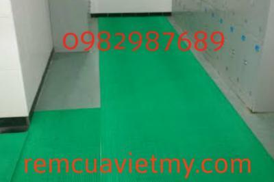 Thảm phòng tắm xanh 004