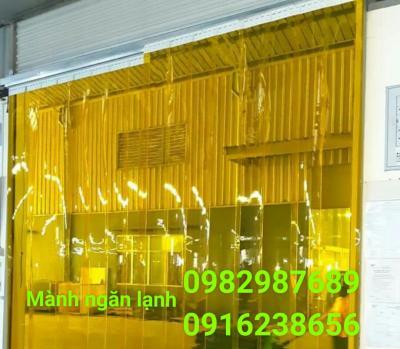 Mành nhựa ngăn lạnh PVC 03